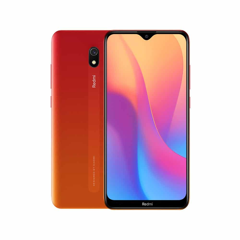 Xiaomi Redmi 8A 32GB ROM 3GB RAM Mobile Phone Snapdragon 439 Octa Core 6.22in 5000mAh 12MP Camera Smartphone Orange_3+32G