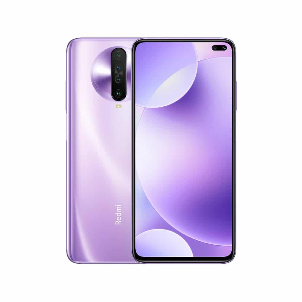 Xiaomi Redmi K30 Global Rom WIFI Bluetooth 5.0 GPS OTG Game Turbo 2.0 Fast Charging Phone purple_8 + 128G