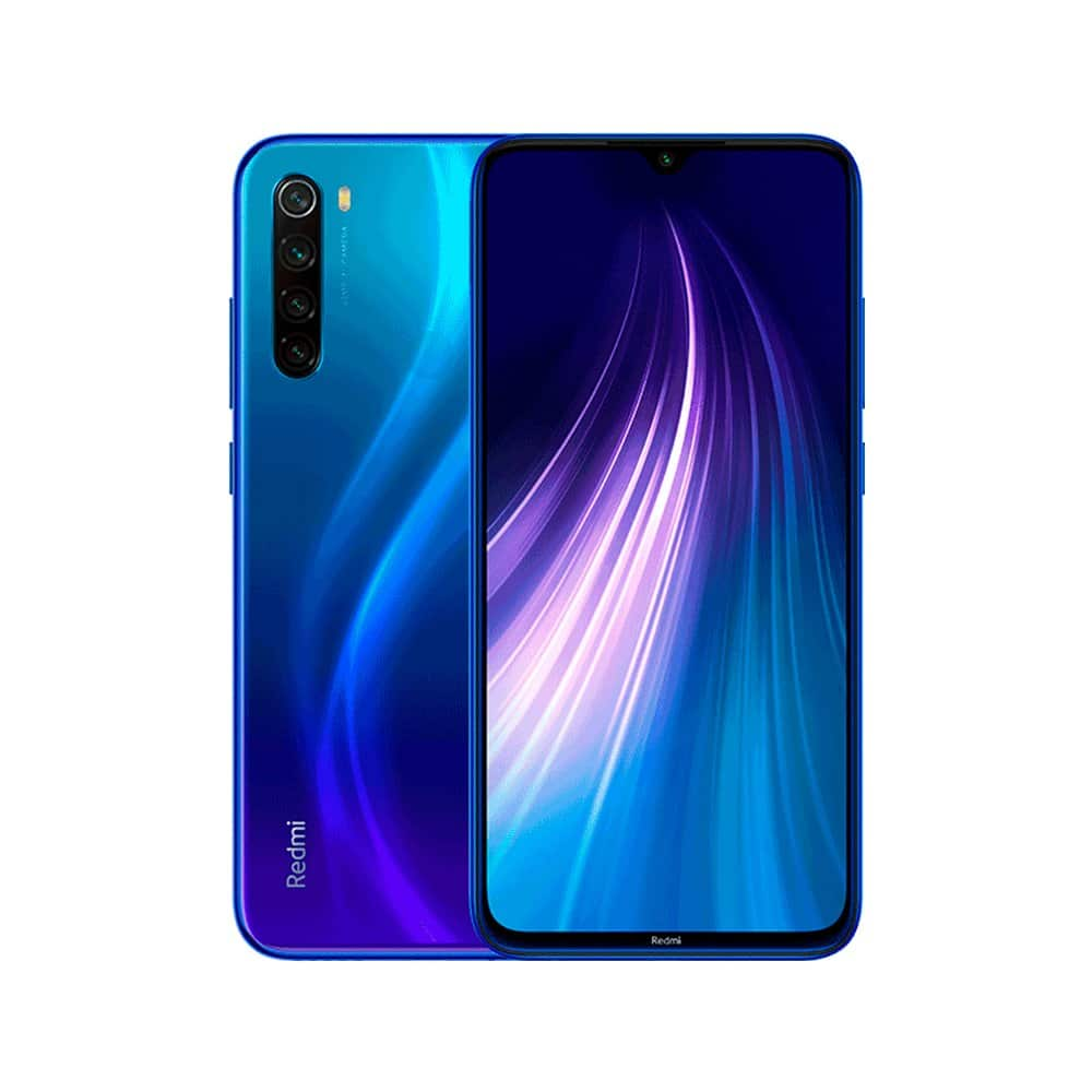 "Xiaomi Redmi Note 8 Smartphone CN version Snapdragon 665 48MP Camera 4000mAh 6.3"" 18W Quick charge Dream blue_4+64G"